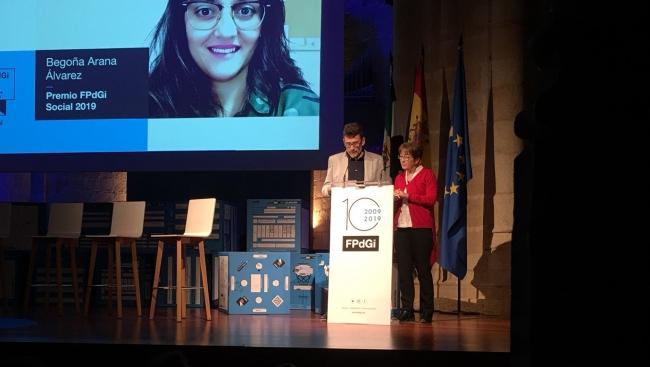 La treballadora social Begoña Arana, Premi Fundació Princesa de Girona Social 2019