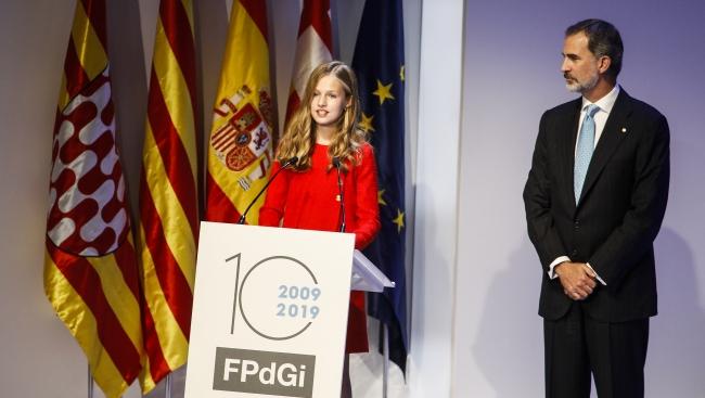 La Cerimònia de lliurament dels Premis Fundació Princesa de Girona 2019