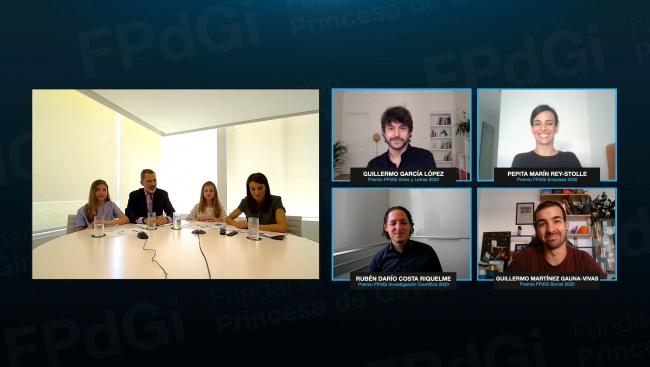 Els guanyadors dels Premis 2020 junts per primera vegada en una jornada virtual de talent